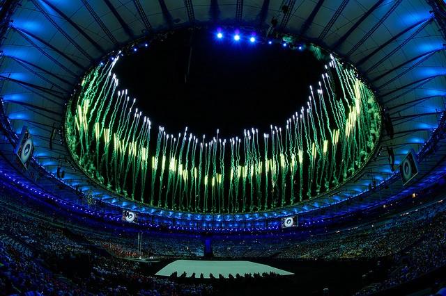 Abertura dos Jogos Paralimpicos. Foto: Gabriel Heusi/ brasil2016.gov.br