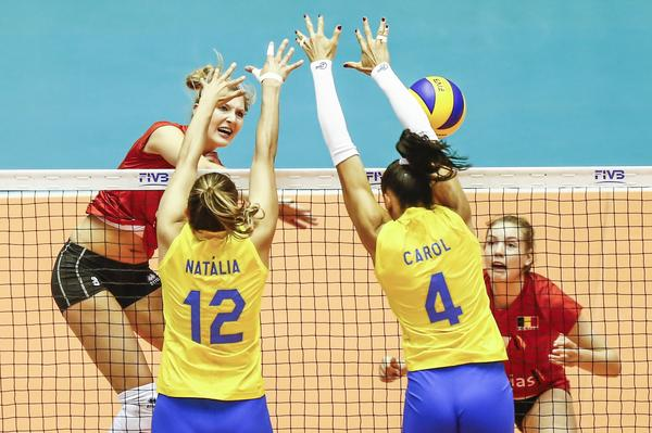 China vence Brasil na abertura da Fase Final do Grand Prix