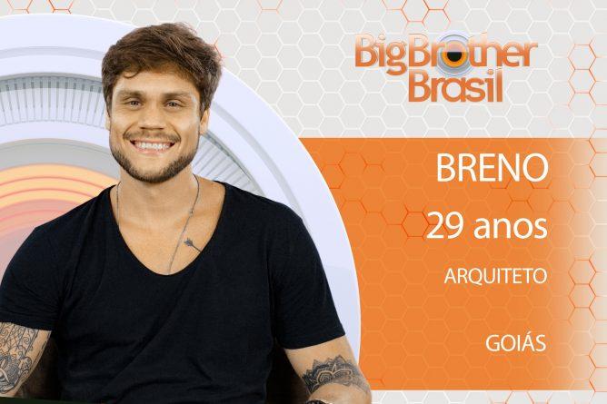 Breno, 29 anos, arquiteto de Goiás.