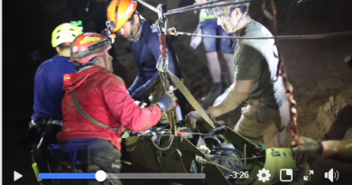 Vídeo do resgate dos meninos na Tailândia surpreende a todos; assista