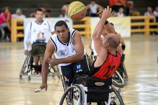 Definidas as semis da 3ª Divisão de Campeonato Brasileiro de Basquete em Cadeira de Rodas