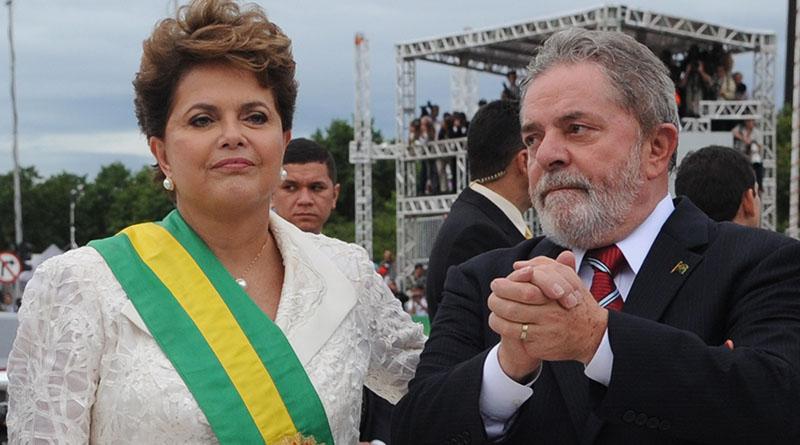 contas usadas pela JBS para Lula e Dilma
