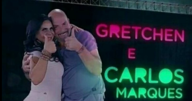 Gretchen se casa pela 17ª vez