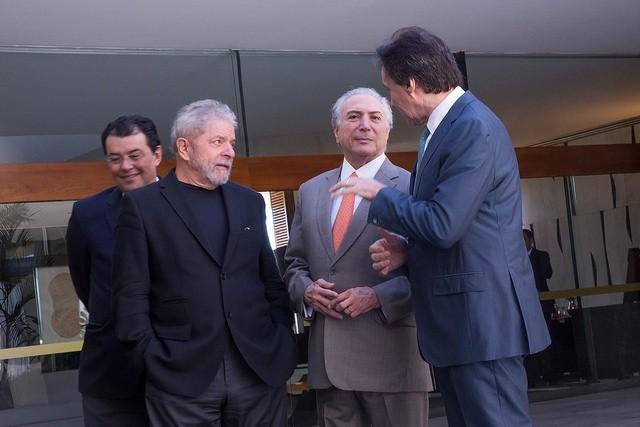 Lula preso e Temer processado