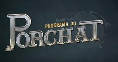 Fábio Porchat entrevista Danilo Gentili em seu talk show