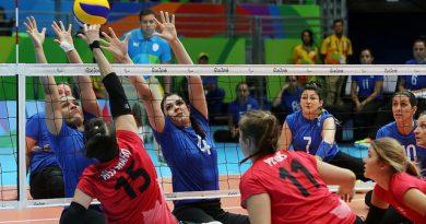 Ministerio do Esporte Seguir Vôlei sentado - Paralimpíadas do Rio 2016 - 09.09.16 - Fotos: Francisco Medeiros/ME