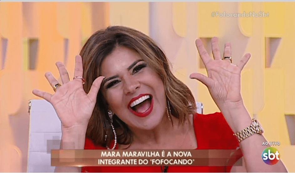 "Mara Maravilha chama Solange Almeida de ""free Willy"""