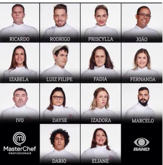 MasterChef Profissionais: conheça os 14 participantes