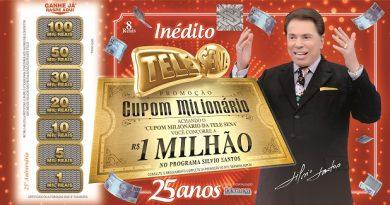 Tele Sena de Aniversário tem Silvio Santos e novo prêmio