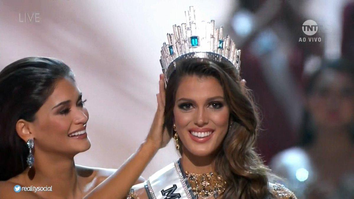 Miss Universo 2018 Quem Ganhou >> Miss França é a Miss Universo 2017 | HORA BRASIL
