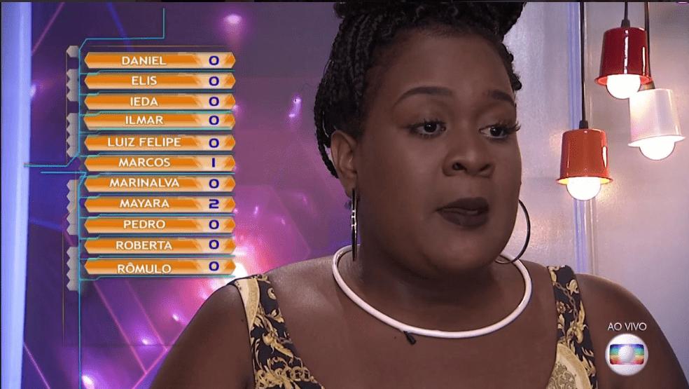 BBB 17: Roberta mente, negando que votou em Mayara