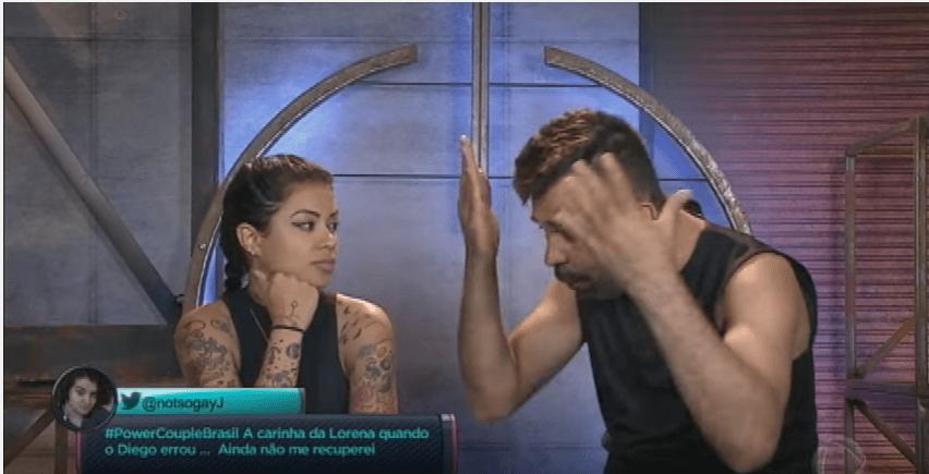 Power Couple Brasil: Frank perde prova e briga com Marcelly; vídeo