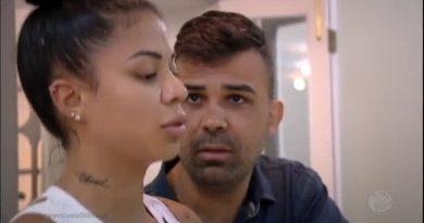 Power Couple 2017: Frank volta a brigar com Marcelly