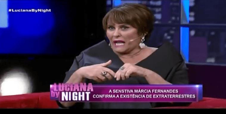O programa Nesta 'Luciana By Night', desta terça-feira (20), recebeu a vidente e astróloga Márcia Fernandes. Para Luciana Gimenez, a sensitiva falou um pouco da sua história