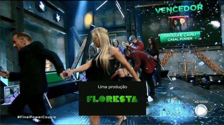 Rafael Ilha sai correndo da final do Power Couple e deixa programa ao vivo