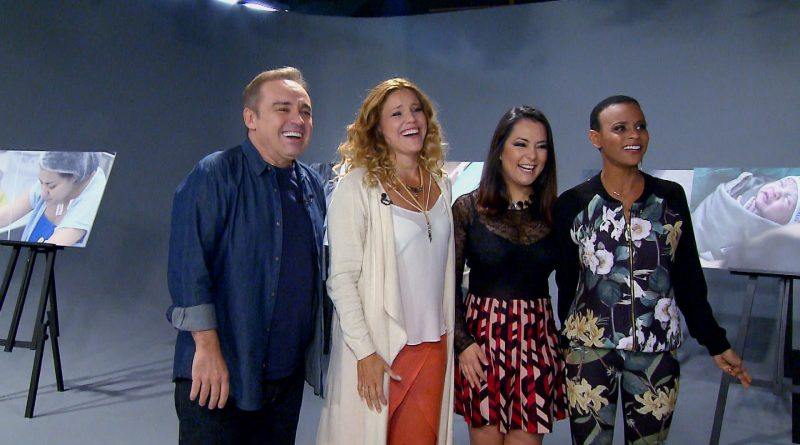 Banda Rouge se reencontra no Programa do Gugu (Foto/divulgação Record TV)