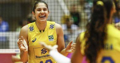 Natália marcou 19 pontos (Divulgação/FIVB)