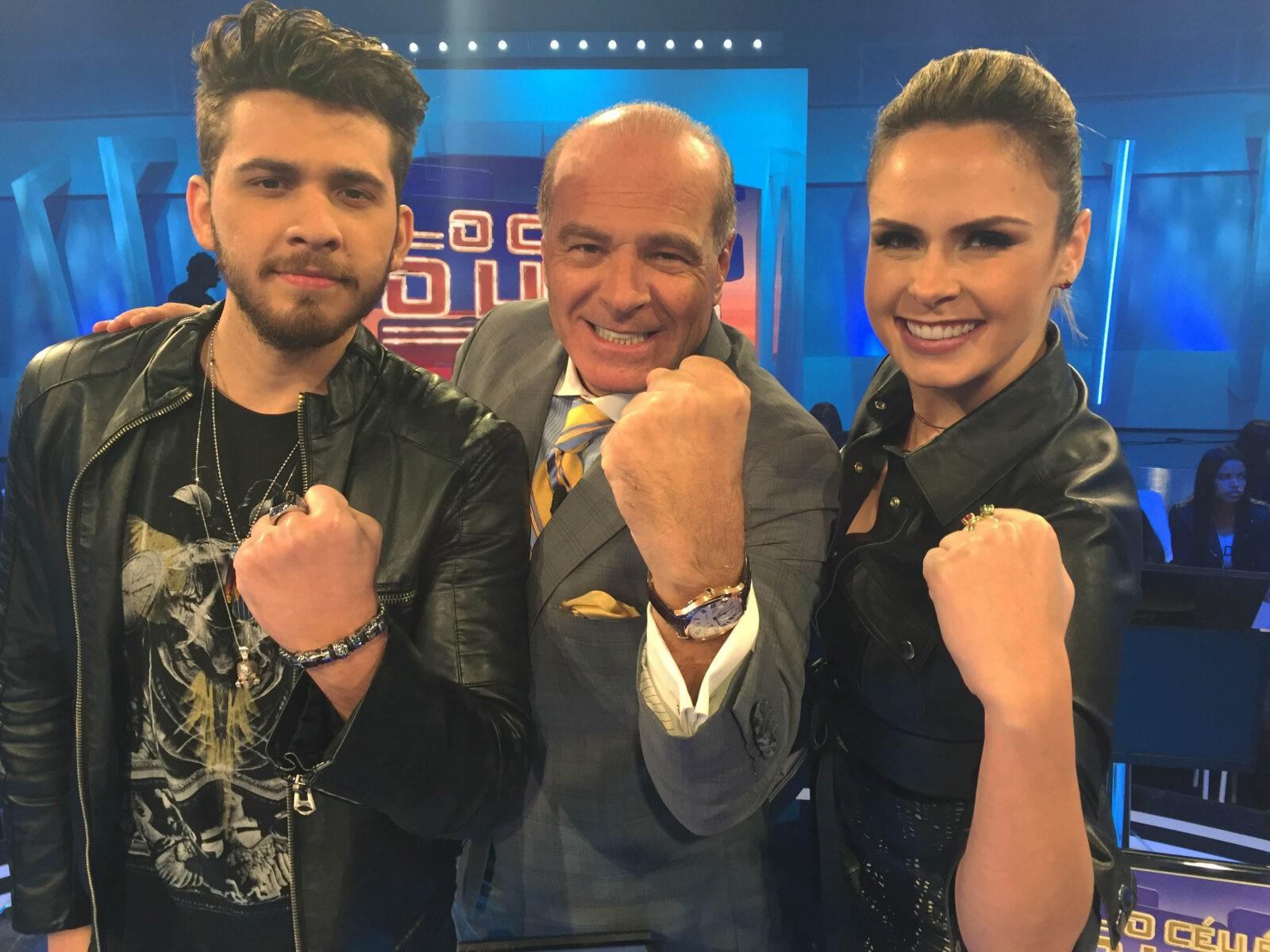 Ana Paula Renault e Gustavo Mioto participam de 'O Céu é o Limite' deste sábado (29) *Crédito/Foto: Divulgação/RedeTV!