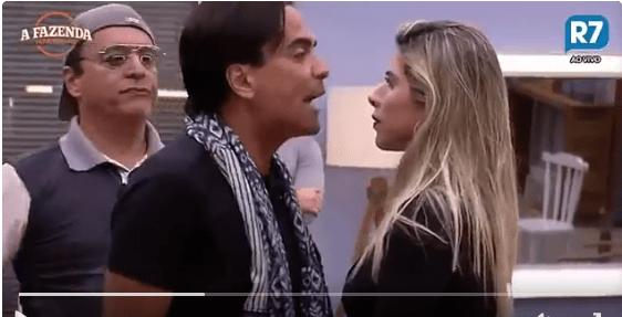 Mãe de Ana Paula Minerato passa mal, após filha ser agredida por Fábio Arruda em A Fazenda 9