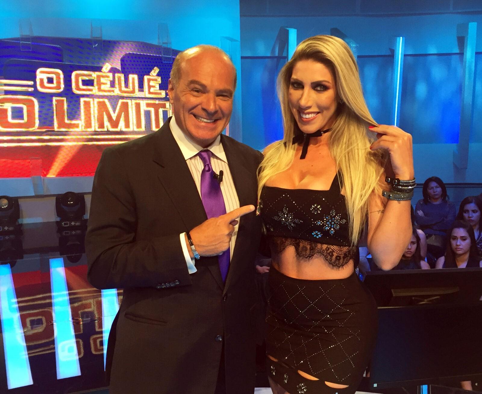 Tati, irmã de Ana Paula Minerato, diz que não é monogâmica *Crédito/Foto: Divulgação/RedeTV!
