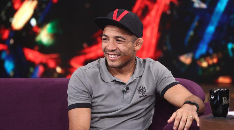 A ex-BBB Ana Paula Renault e o lutador José Aldo são os convidados do talk show CRÉDITO DAS FOTOS (USO OBRIGATÓRIO): Edu Moraes/Record TV
