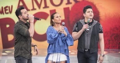 Crédito das fotos (USO OBRIGATÓRIO): Edu Moraes/Record TV (Meu Amor É o Bicho) ou Divulgação/Record TV (Sabrina Esteve Aqui)