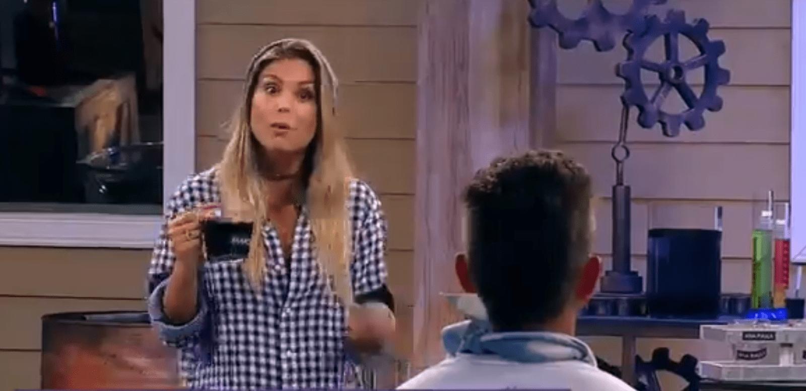 Flávia diz para Marcos Harter em A Fazenda 9: 'Você está cheio de podridão, se cura' (Foto/ reprodução Record TV)