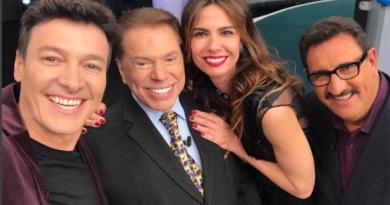 Rodrigo Faro, Silvio Santos, Luciana Gimenez e Ratinho (Foto/Reprodução Instagram @rodrigofaro)