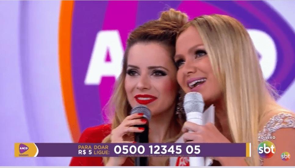 Rede Globo divulga o Teleton 2017 no Twitter (Foto/Divulgação SBT)