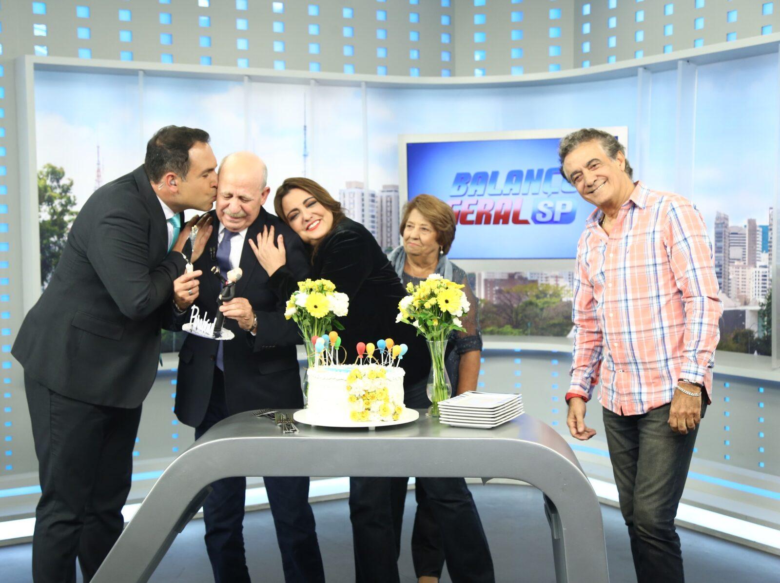 Aniversário de Lombardi deixa Globo em segundo lugar de audiência Fotos: Antônio Chahestian/Divulgação Record TV