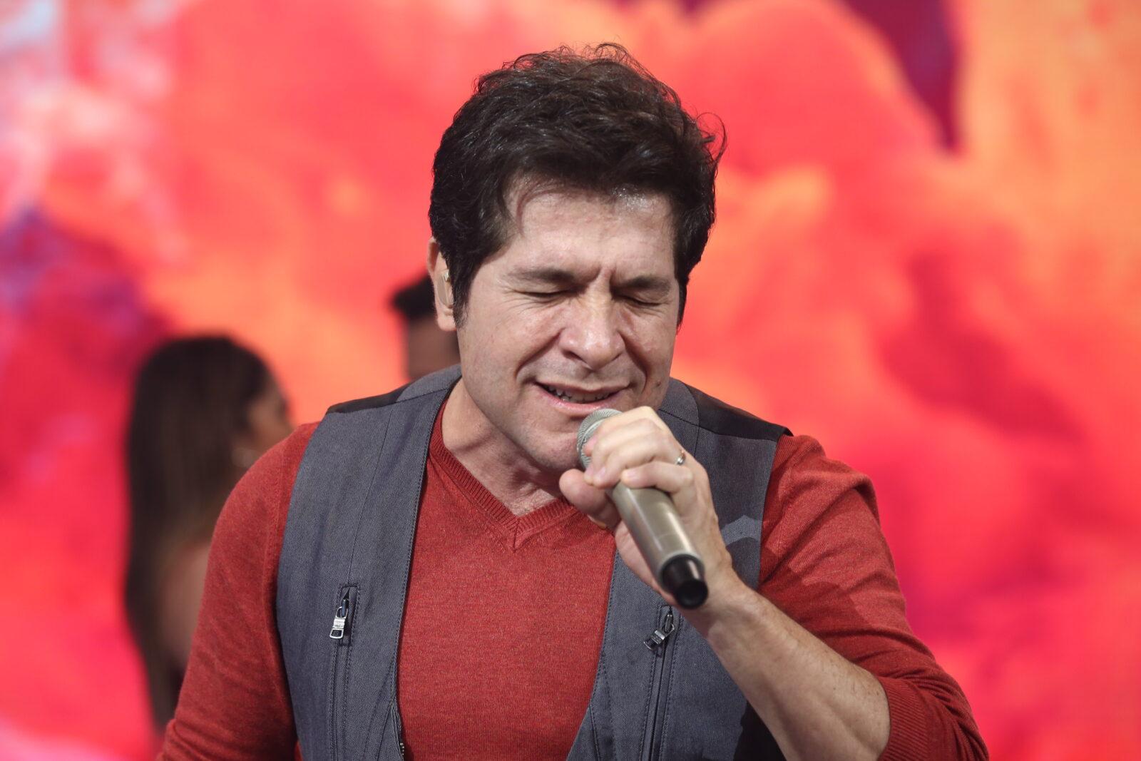 Cantor Daniel no Hora do Faro (CRÉDITO DAS FOTOS: Antonio Chahestian/Record TV)