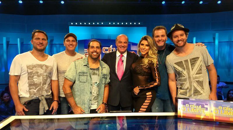 Ana Paula Minerato e Inimigos da HP participam de 'O Céu é o Limite' deste sábado (16) *Crédito/Fotos: Divulgação/RedeTV!