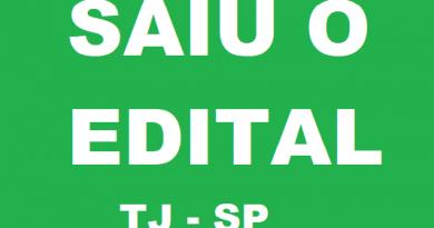 Concurso TJ - SP: lançado o edital com 235 vagas e remuneração de R$ 6.193,73