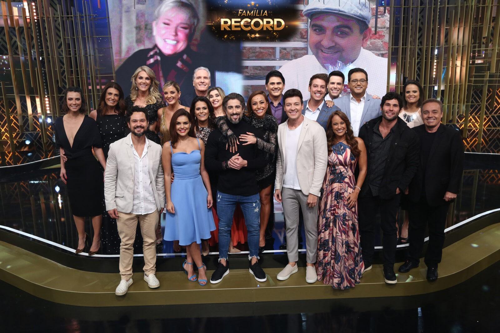 Família Record 2017 (CRÉDITO DAS FOTOS: ANTÔNIO CHAHESTIAN)