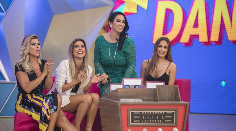 Flávia Viana, Ana Paula Minerato, de A Fazenda 9, estão no Legendários (Crédito das fotos: Edu Moraes/Record TV / Divulgação/Record TV)