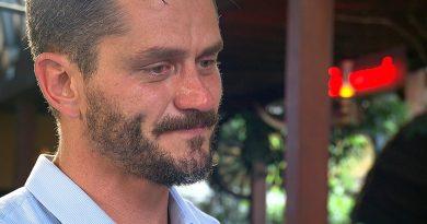 Marcos Harter desabafa: 'Me senti bastante humilhado' Crédito das imagens: Divulgação/Record TV