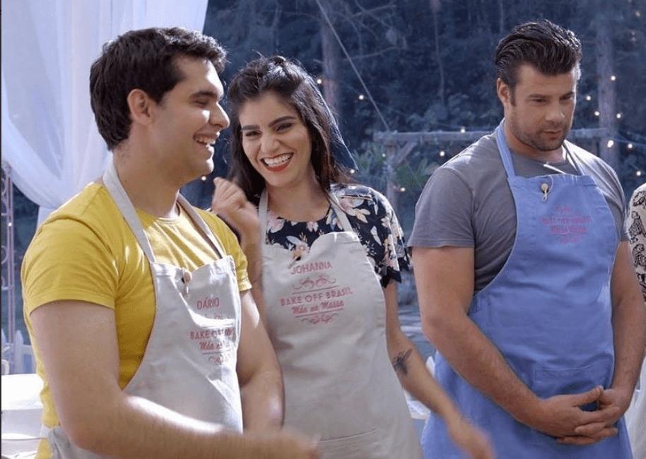Dário, Johanna e José se enfrentam na grande final do Bake Off (Foto/divulgação SBT)