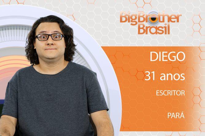 Diego Paraense de 31 anos, vive atualmente em São Paulo e é escritor.