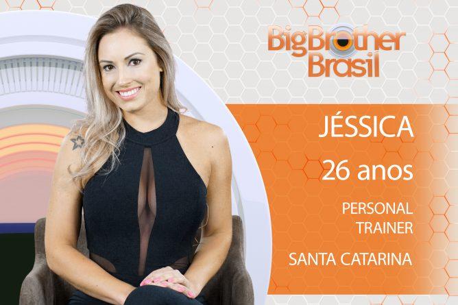 Jéssica está no BBB18