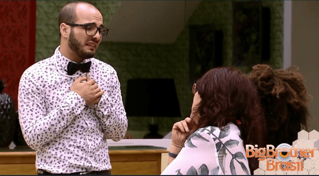 BBB 2018: Mahmoud diz quem ele vai mandar para o paredão