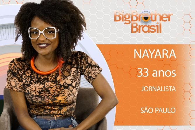 NAYARA, Paulista de 33 anos, é jornalista e trabalha no setor financeiro em uma multinacional francesa.