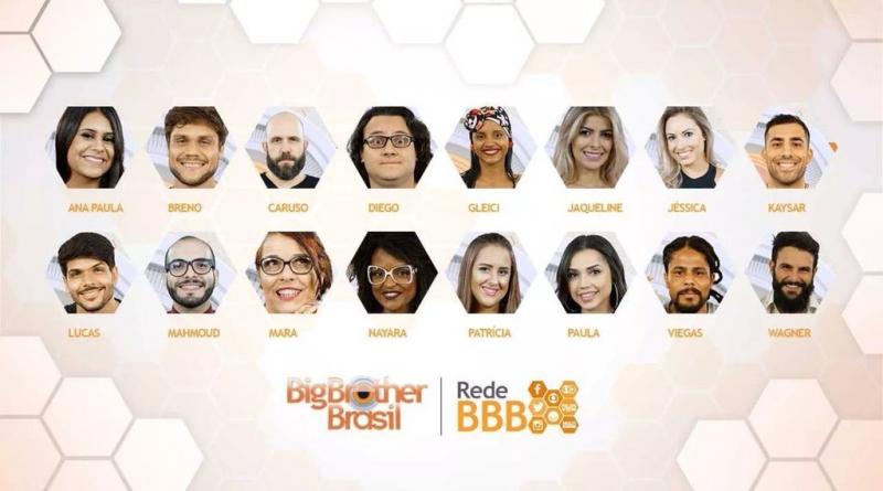 Participantes do BBB 18