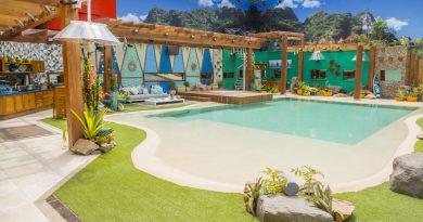 Big Brother Brasil 18 - BBB 18 - Fotos da Casa Foto: área externa da casa BBB 18 Crédito: Globo / João Cotta