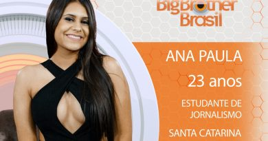 Ana Paula participante do BBB18