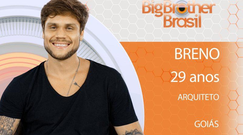 Breno do BBB 18 Breno, 29 anos, arquiteto de Goiás.