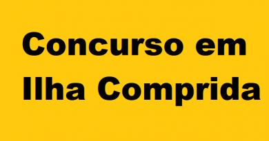 Câmara Municipal de Ilha Comprida abre concurso