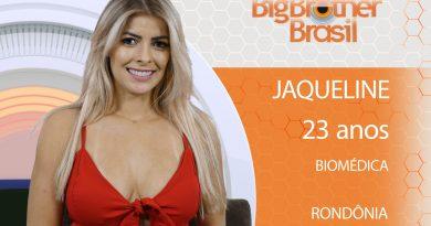 Jaqueline está no BBB 18