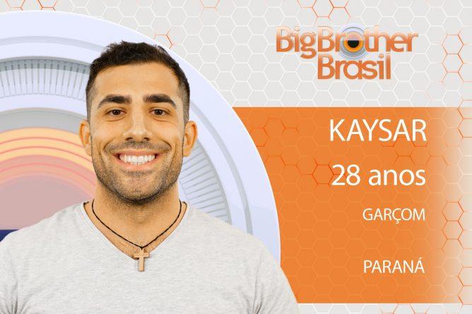 Kaysar está no BBB18