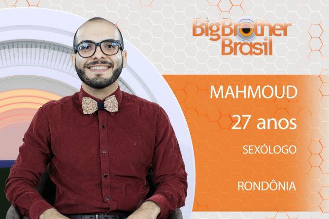 Mahmoud está no BBB18