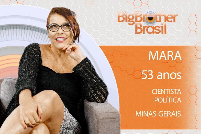 Nascida em Governador Valadares, Minas Gerais, Mara é graduada em História